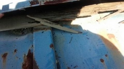 屋根塗装 トタン屋根 サビ 施工前画像