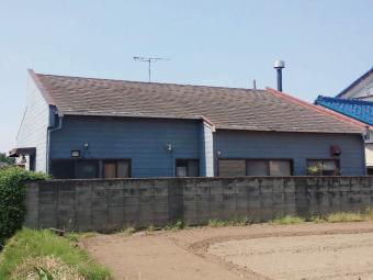 外壁屋根塗装工事着工前シュミレーション比較