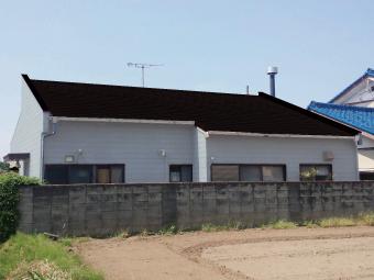 カラーシュミレーション屋根茶色壁ベージュ 決定