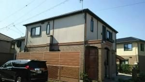 高崎市足門町M様邸 外壁・屋根塗装前