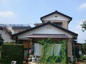 埼玉県本庄市K様邸外壁塗装工事前③
