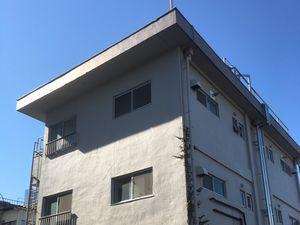 前橋市大手町マンション 外壁塗装前外観