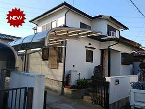 高崎市吉井町南陽台外壁屋根塗装工事