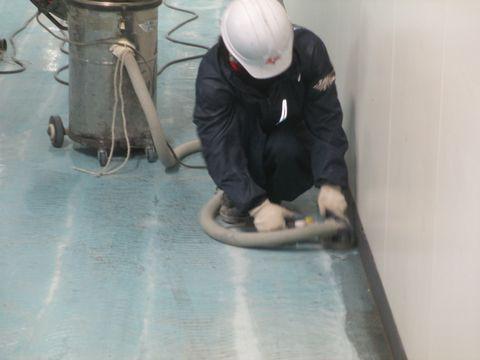 住宅塗装 アサヒペイント 塗り床 研磨