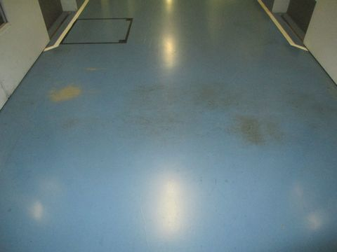 住宅塗装 アサヒペイント 塗り床 施工前