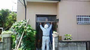 前橋市S様邸 既存ドア撤去