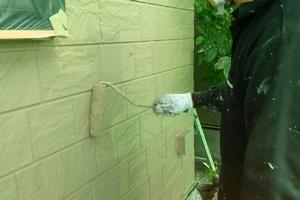 住宅塗装 アサヒペイント 塗装(上塗り)