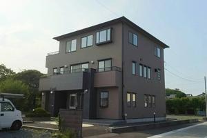 住宅塗装 アサヒペイント 完成