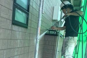 住宅塗装 アサヒペイント 外壁洗浄
