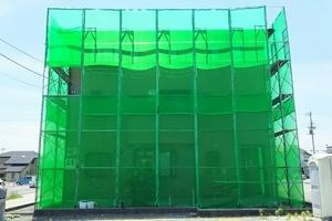 住宅塗装 アサヒペイント シート養生