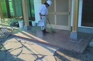 住宅塗装 アサヒペイント 清掃