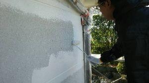 群馬県 前橋市 塗替えリフォーム 外壁下塗り