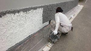 群馬県 前橋市 塗替えリフォーム 上塗り塗装工事