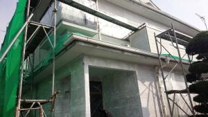 群馬県 前橋市 塗り替えリホーム 下塗完了