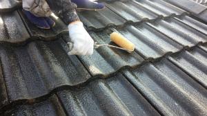 群馬 塗装 外壁 屋根下塗り