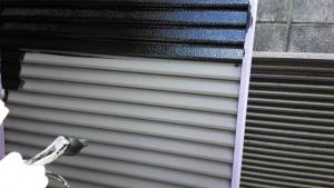 群馬県 住宅塗装 塗り替えリフォーム 雨戸塗装
