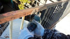 前橋市 住宅塗装 塗り替え ケレン作業