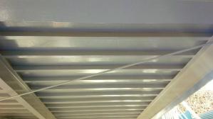 群馬 住宅塗装 塗り替えリフォーム 車庫天井塗装