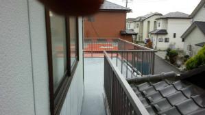 群馬県 前橋市 住宅塗装 ベランダ防水完成