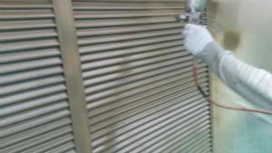 群馬 塗装 外壁 戸袋雨戸拭きつけ