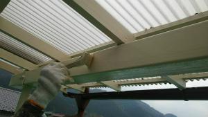 群馬 塗装 外壁 屋根 ベランダテラス仕上げ