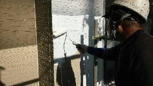 群馬県 前橋市 塗替えリフォーム 外壁下塗り中