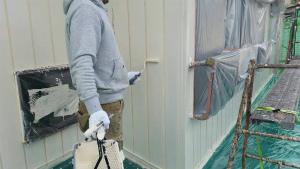 群馬 塗装 外壁 屋根 外壁上塗り