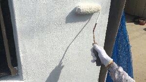 群馬県 前橋市 塗替えリフォーム 下塗り施工中