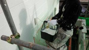 群馬 塗装 外壁 屋根 外壁下塗り