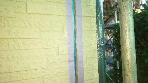 群馬県 前橋市 塗替えリフォーム コーキング前のマスキング