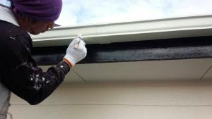 群馬 塗装 外壁 破風板塗装
