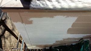 群馬 塗装 外壁中塗り 塗替えリフォーム