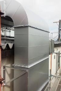 群馬県 前橋市 塗替えリフォーム ダクト塗装完工