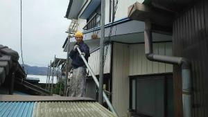 群馬 塗装 外壁・屋根 足場解体