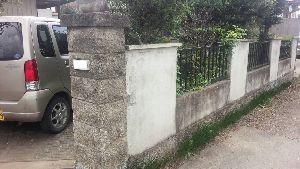 群馬県 前橋市 塗替えリフォーム 塀着工前