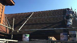 群馬県 前橋市 住宅塗装 屋根足場