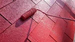 群馬県 前橋市 住宅塗装 屋根塗装上塗り