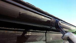 群馬県 前橋市 住宅塗装 雨樋塗装