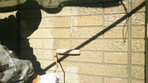 群馬 前橋 住宅塗装 外壁塗装作業
