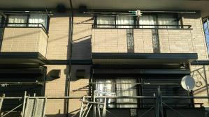 群馬県 前橋市 住宅塗装 足場作業