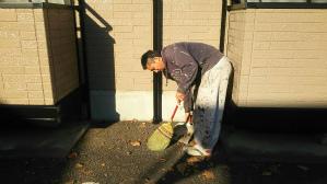 群馬県 前橋市 住宅塗装 清掃作業