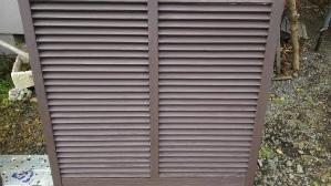 群馬県 前橋市 住宅塗装 雨戸塗装