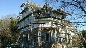 群馬 前橋 屋根塗替え 足場工事