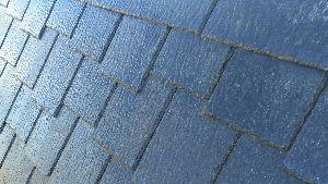 群馬 前橋 屋根の塗装 洗浄後