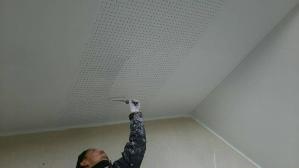 群馬 前橋 お家の塗替え 軒天上塗り