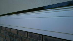 群馬 前橋 外壁塗装 水切塗装完成