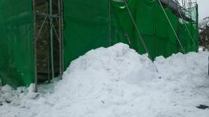 群馬 前橋 富士見 雪かき作業