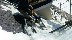群馬 前橋 屋根塗装 屋根雪かき