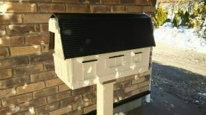 群馬 前橋 屋根塗替え ポスト塗装