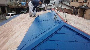群馬県 前橋市 塗り替えリホーム 屋根上塗